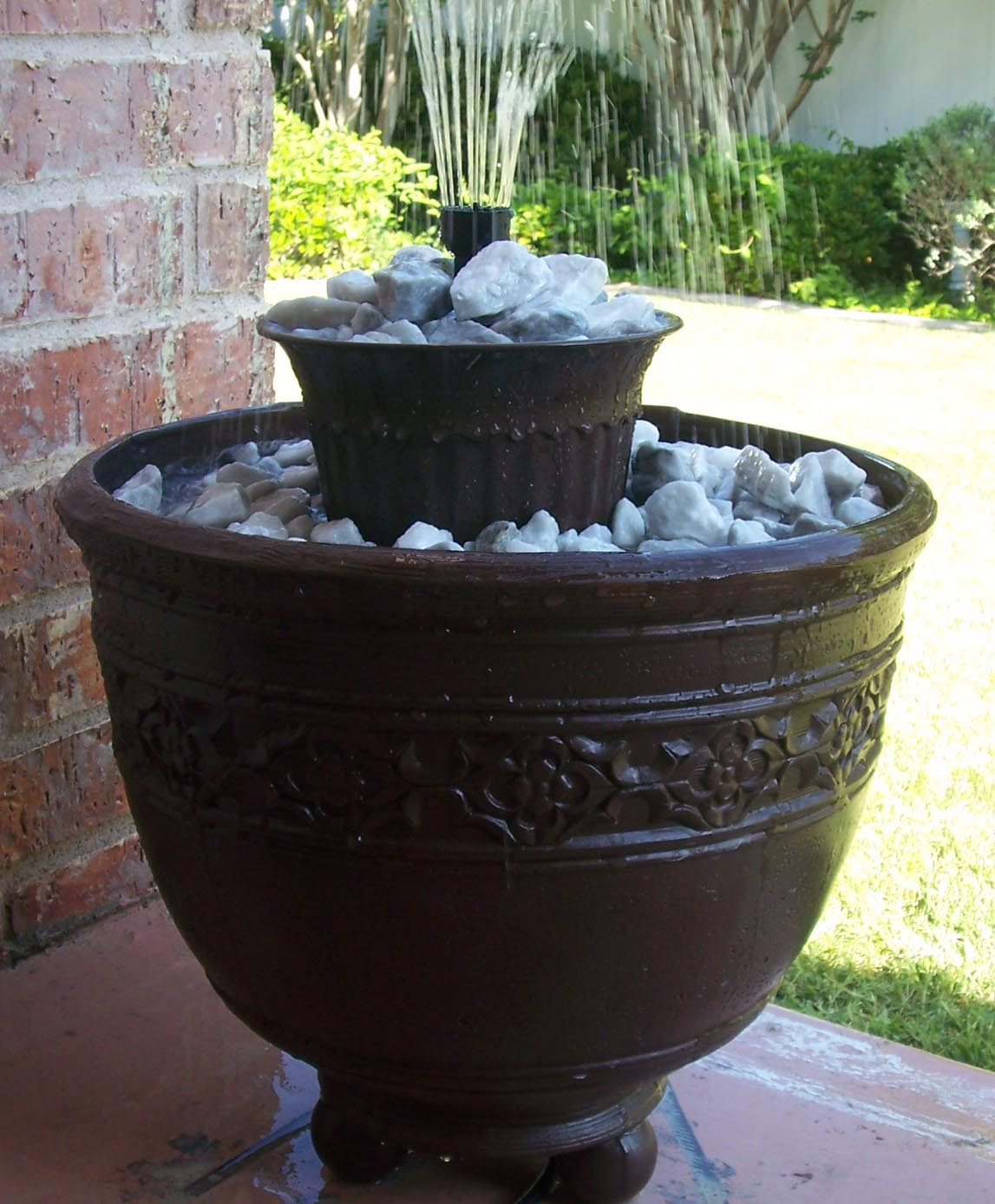How to Make a Small Fountain