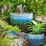 How to Make a Water Fountain out of Flower Pots