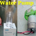 How to Make a Water Pump for a Fountain