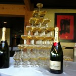 How to Make Champagne Fountain