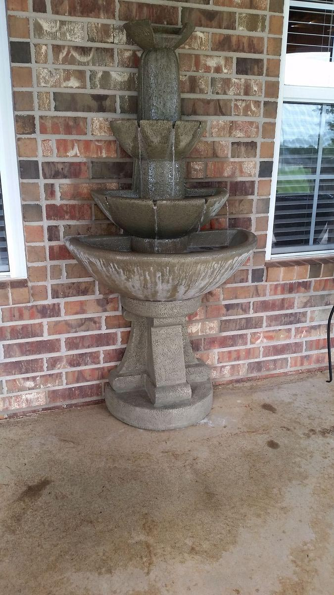 How to Repair Concrete Water Fountain