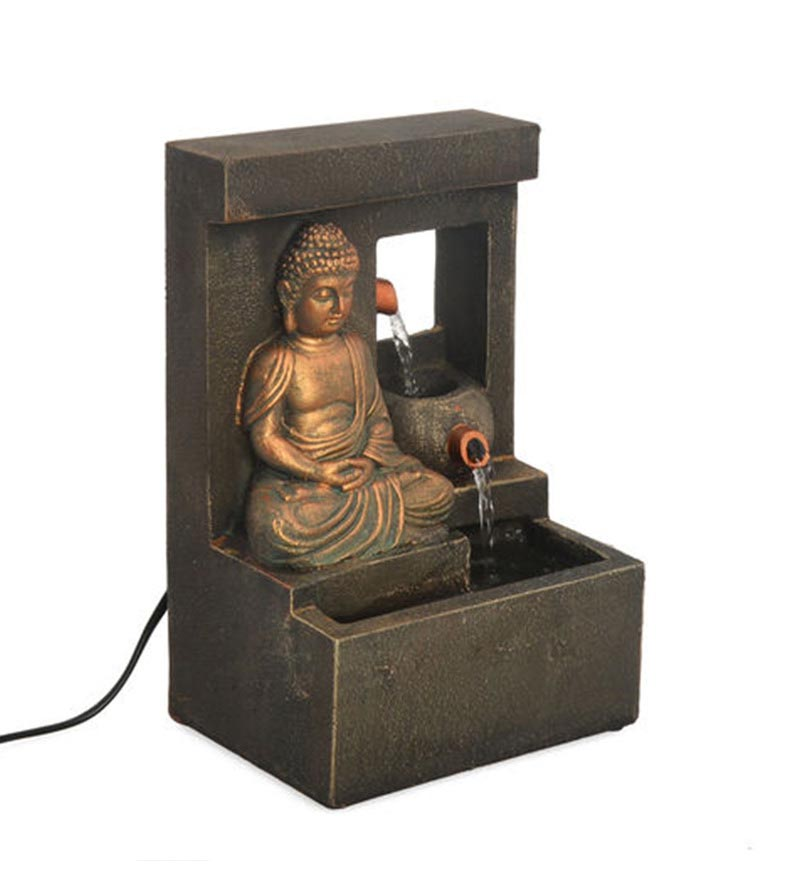 Indoor buddha water fountain fountain design ideas indoor buddha water fountain workwithnaturefo