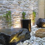 Indoor Rock Fountain