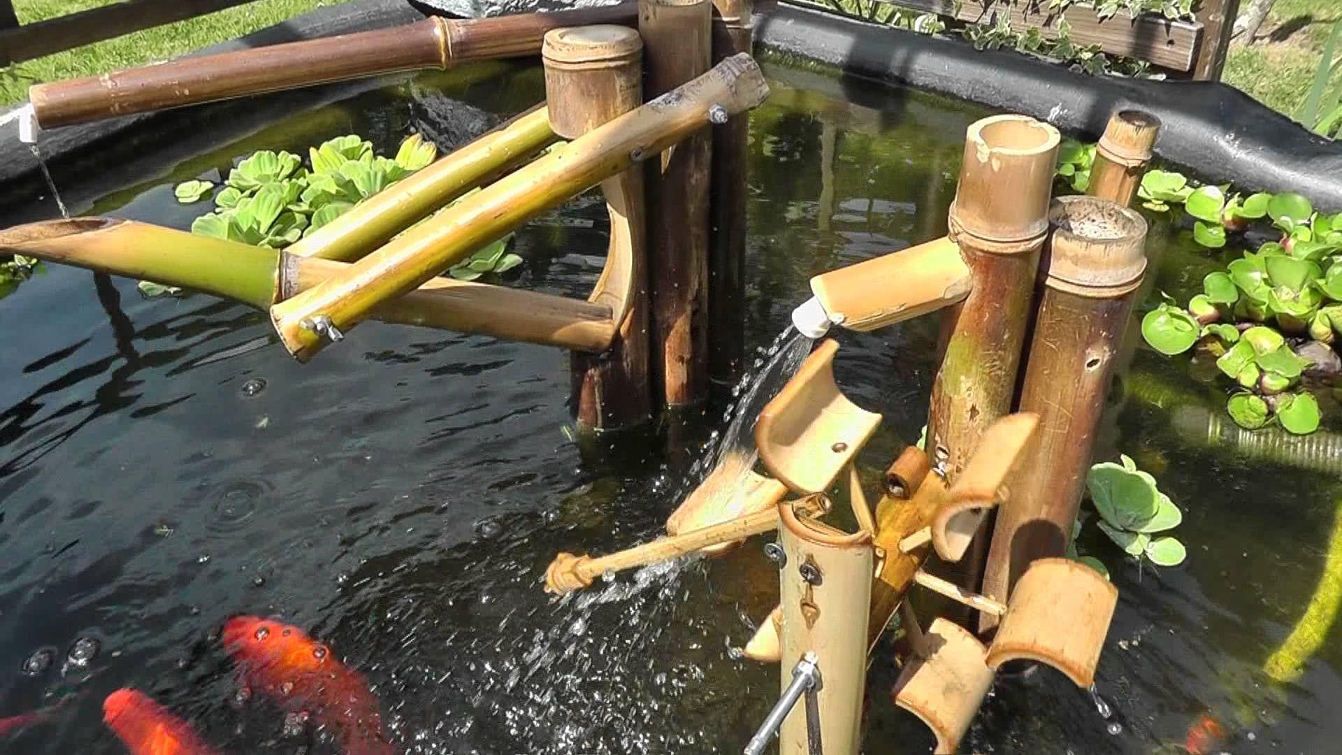 Japanese bamboo fountain how to make fountain design ideas for Japanese bamboo water feature