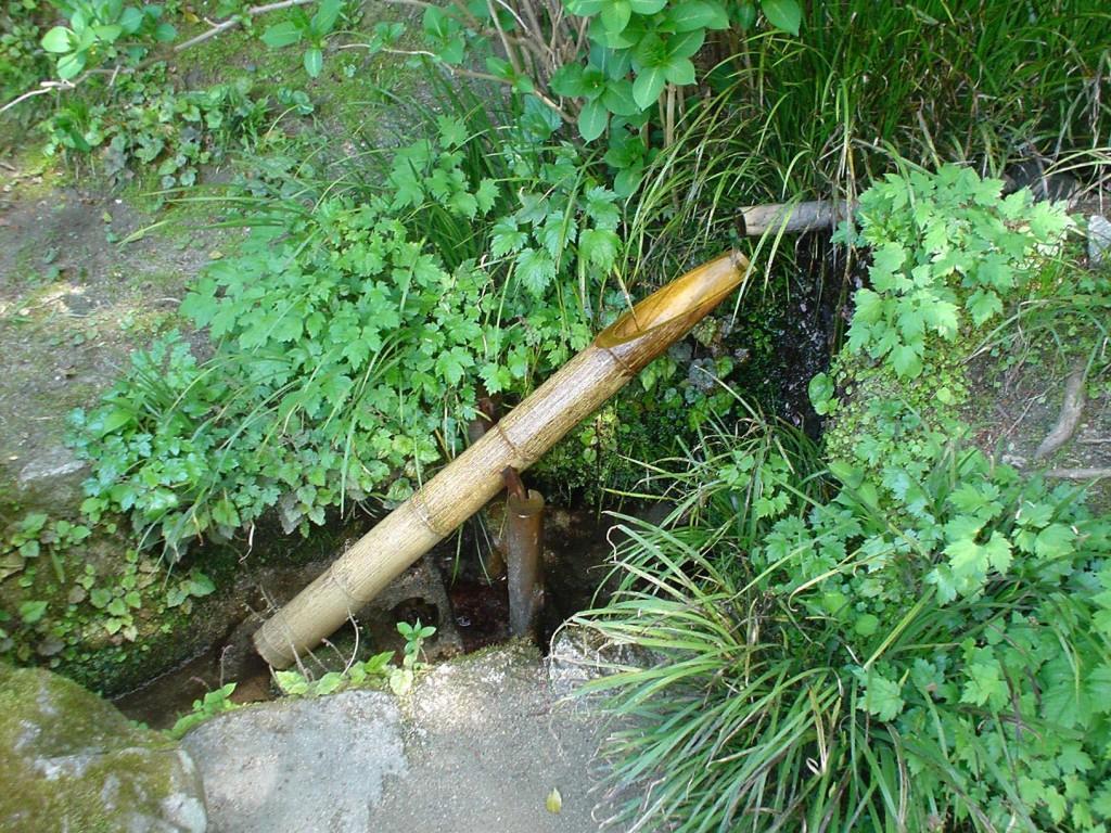 Japanese Bamboo Rocking Water Fountain