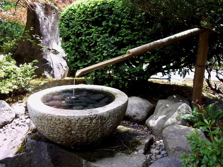 Japanese hinano s enema water fountain fountain design ideas for Japanese bamboo water feature