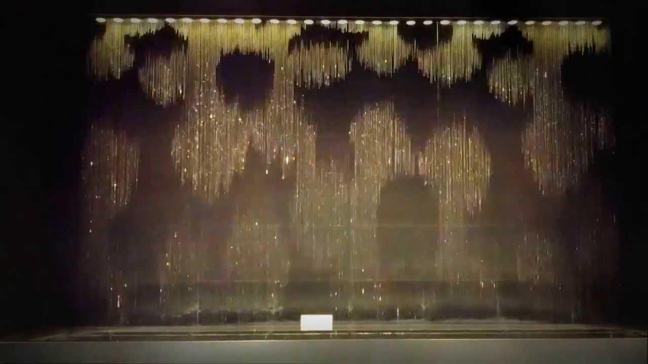 Japanese Water Fountain Clock