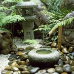 Japanese Water Fountain Garden