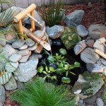 Japanese Water Stone Fountain