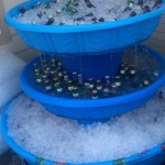 Kiddie Pool Fountain Cooler