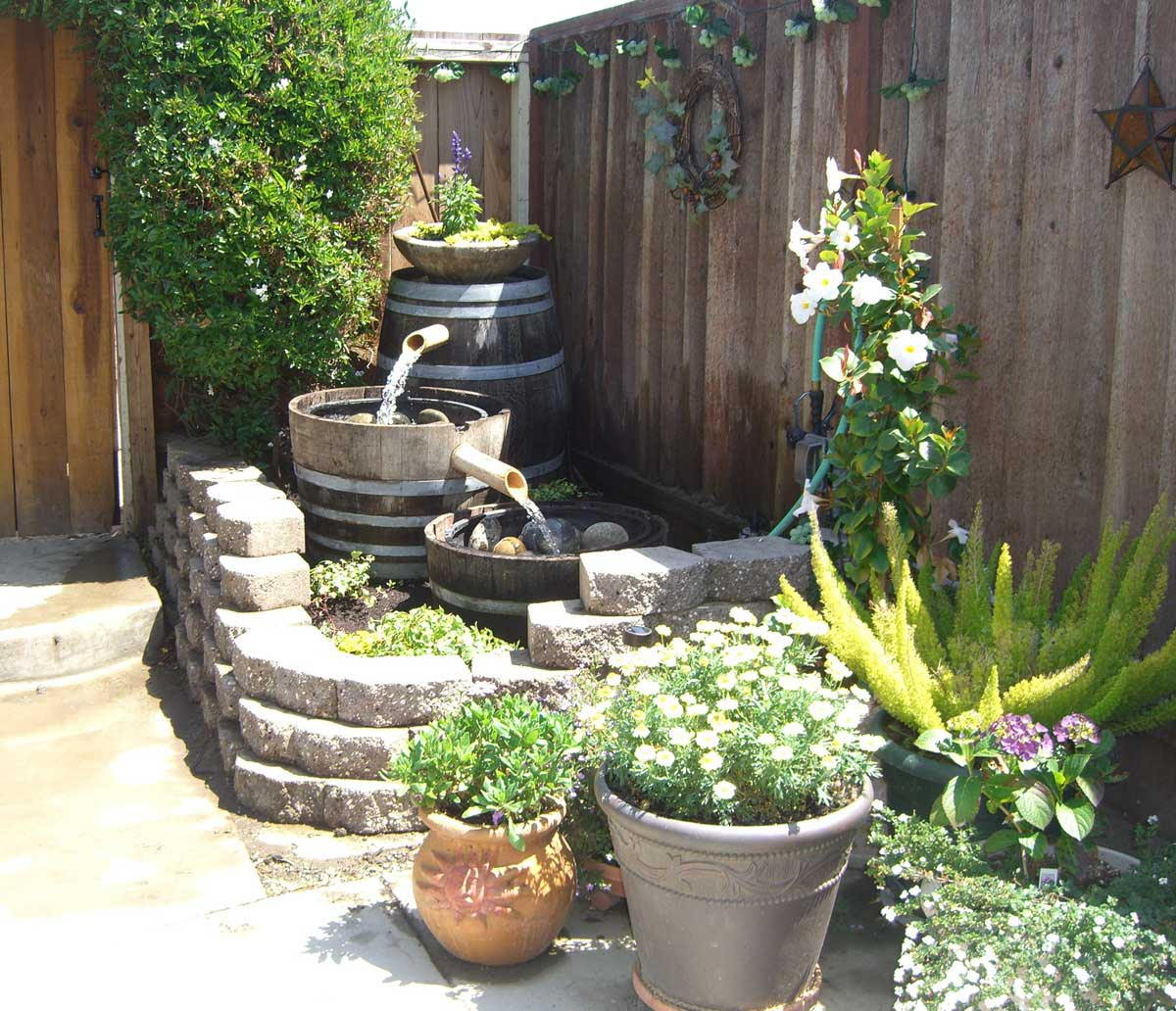 Landscape Design with Water Fountains