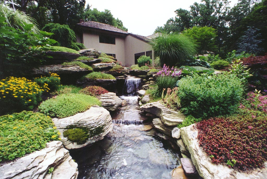 Landscape Water Fountain Design