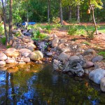 Landscape Water Fountains Ponds