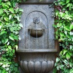 Landscaping Ideas Around Water Fountain