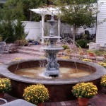 Landscaping Outdoor Water Fountains