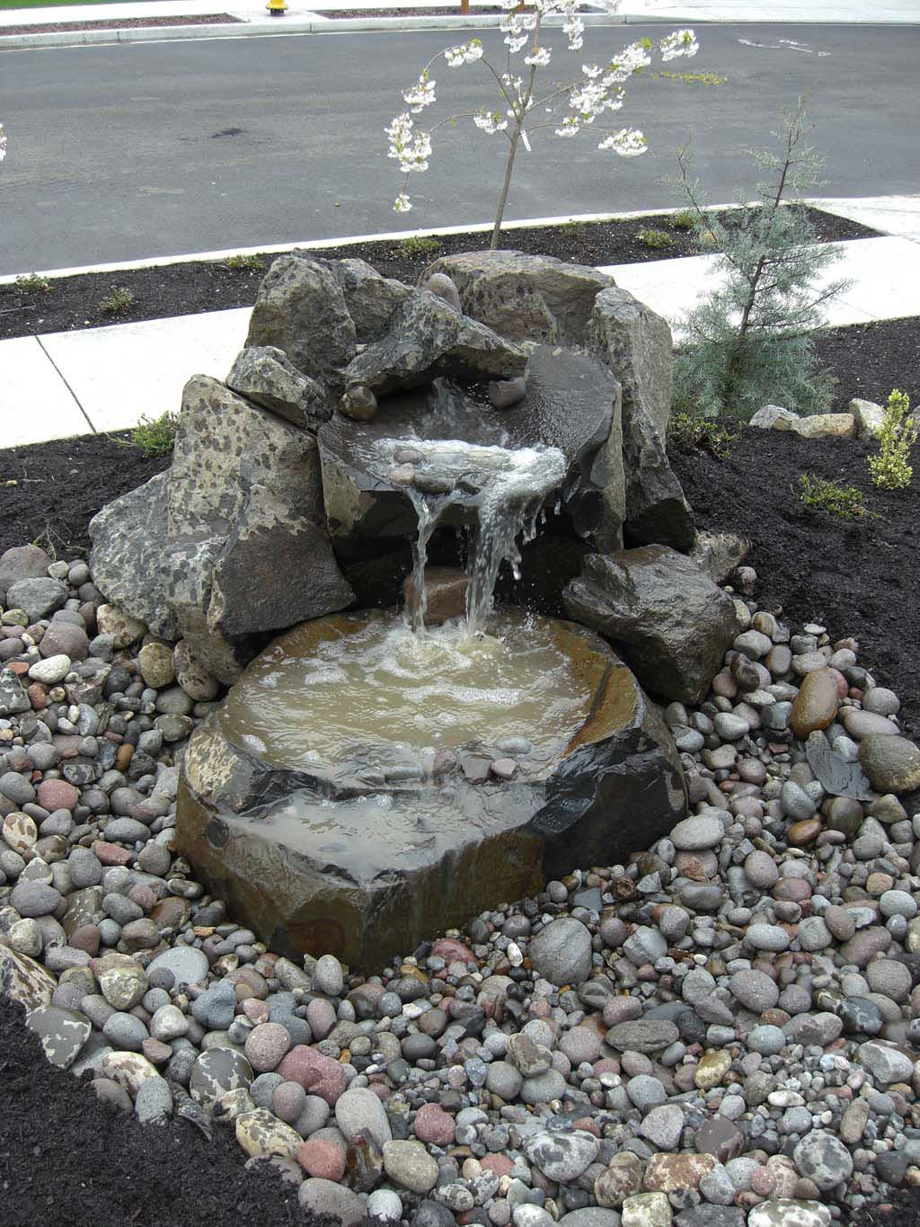 Landscaping Pictures Water Fountains