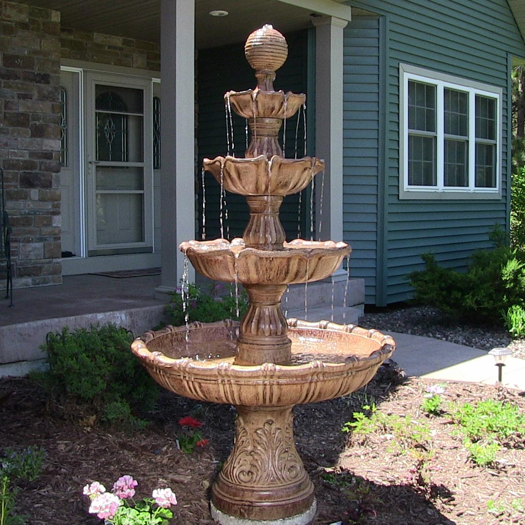 Large Patio Fountains