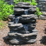 Large Rock Fountain