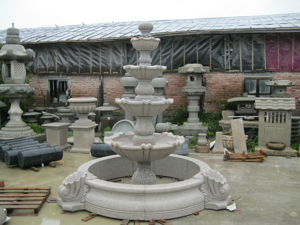 Large Yard Fountains
