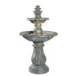 Lighted Outdoor Fountains