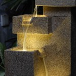 Lighted Water Fountains Outdoor