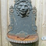 Lion Head Fountain Spitter