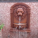 Lion Head Garden Fountain
