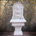 Lion Head Outdoor Fountain