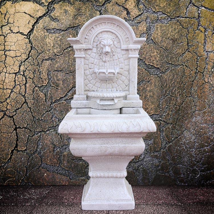Lion Head Outdoor Fountain