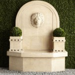 Lion Head Wall Fountain Outdoor