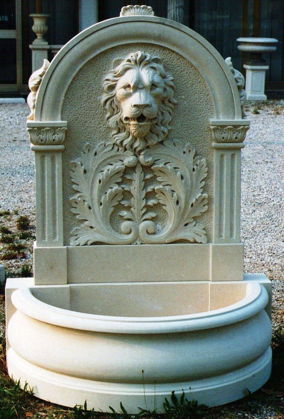 Lion Head Wall Fountains