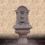 Lion Head Water Fountain Outdoor