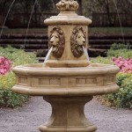Lion Outdoor Fountain