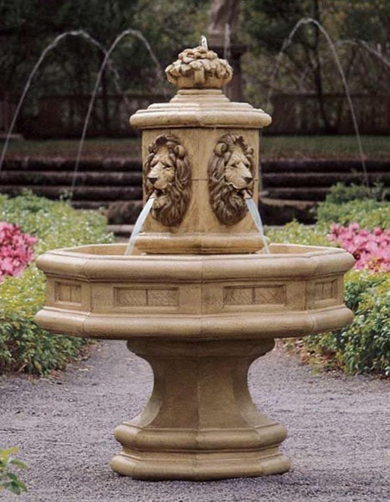 Lion Outdoor Fountain