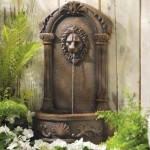 Lion Wall Fountains Outdoor