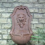 Lions Head Wall Fountain