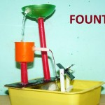 Make Water Fountain School Project
