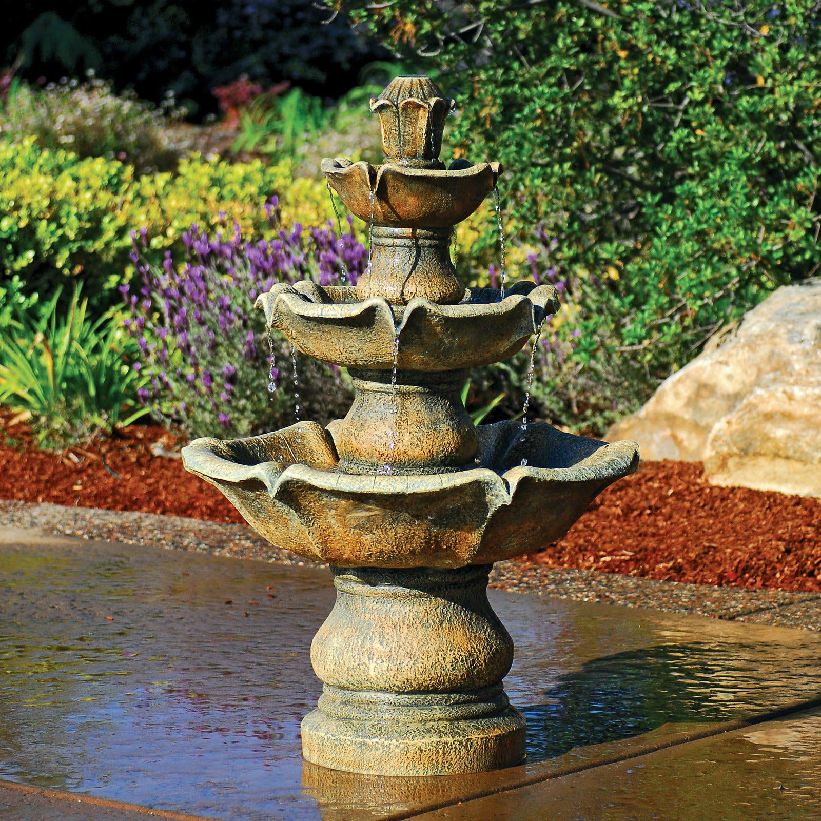 Make Your Own Water Fountain Outdoor
