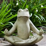 Meditating Frog Fountain