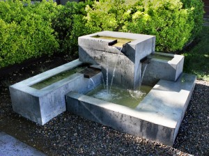 Modern Garden Fountains