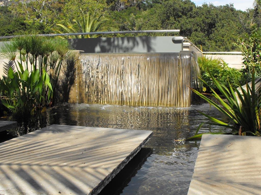 Modern Waterfall Fountain