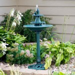 Outdoor Bird Bath Fountains