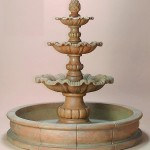 Outdoor Concrete Fountains