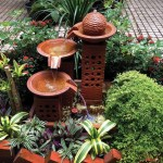 Outdoor Copper Fountain