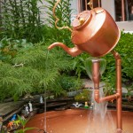 Outdoor Copper Fountains