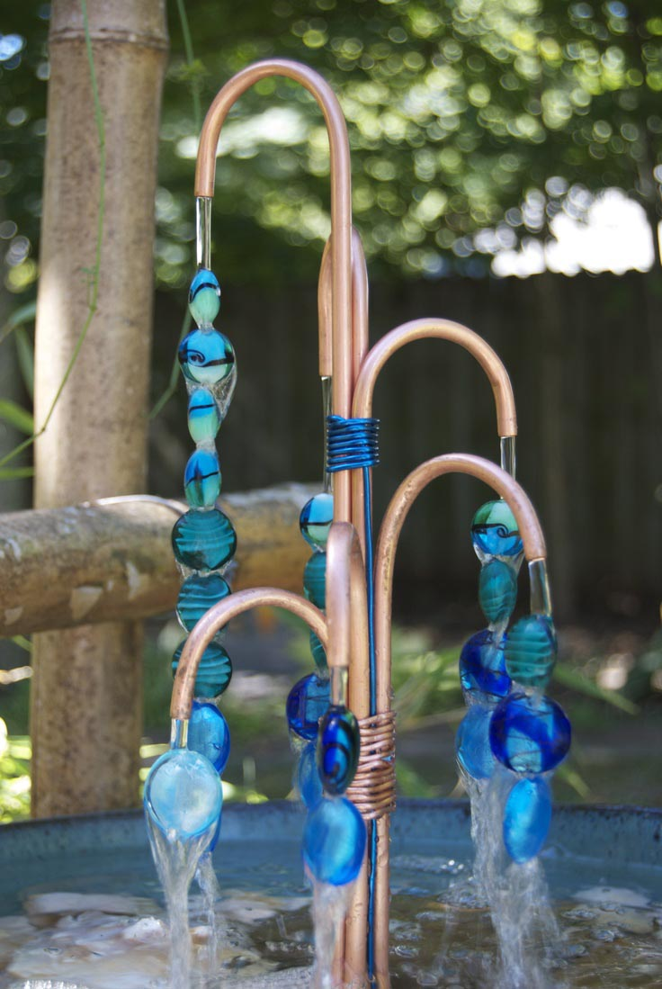 Outdoor Copper Water Fountains