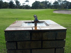 Outdoor Drinking Water Fountain