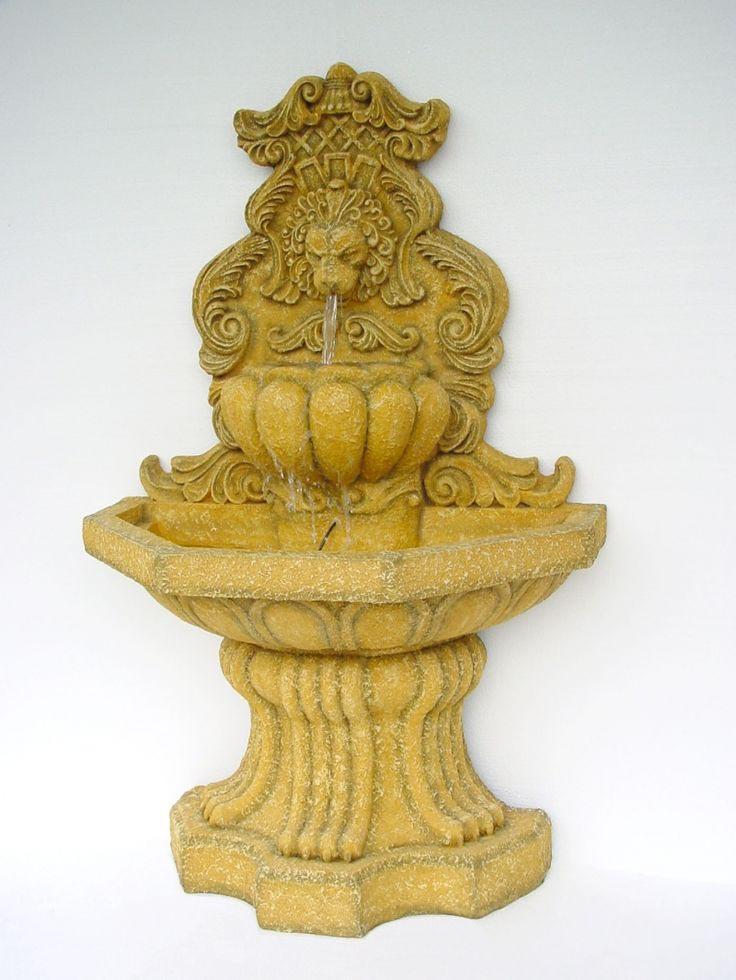 Outdoor Lion Fountain