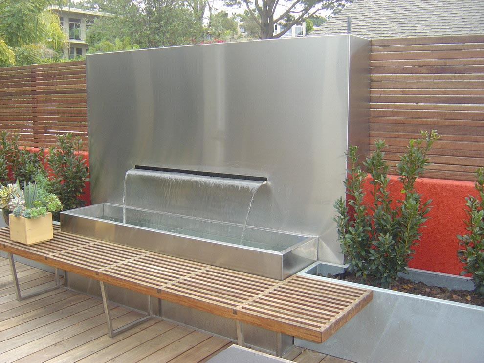 Outdoor Patio Wall Fountains Fountain Design Ideas
