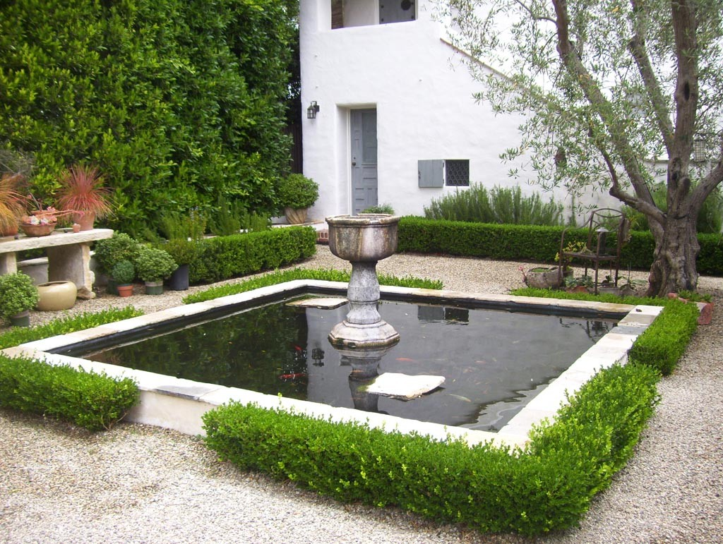 Outdoor Ponds and Fountains